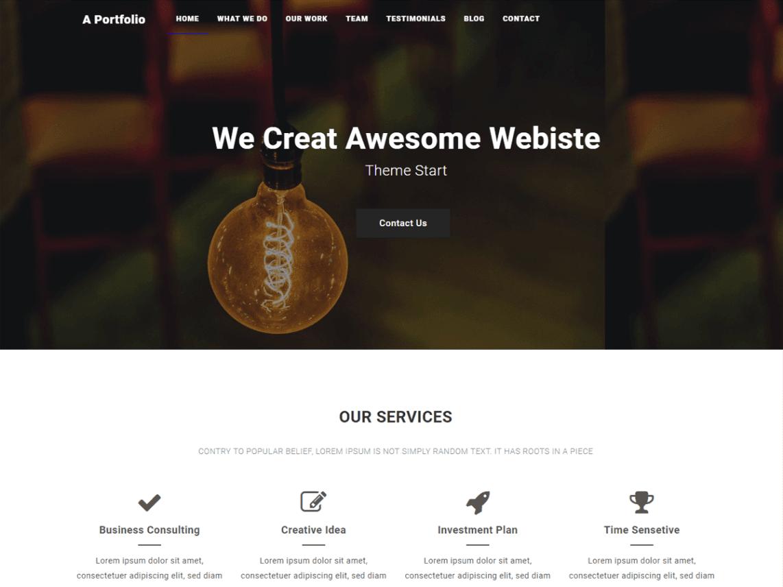 Best Free WordPress Portfolio Templates
