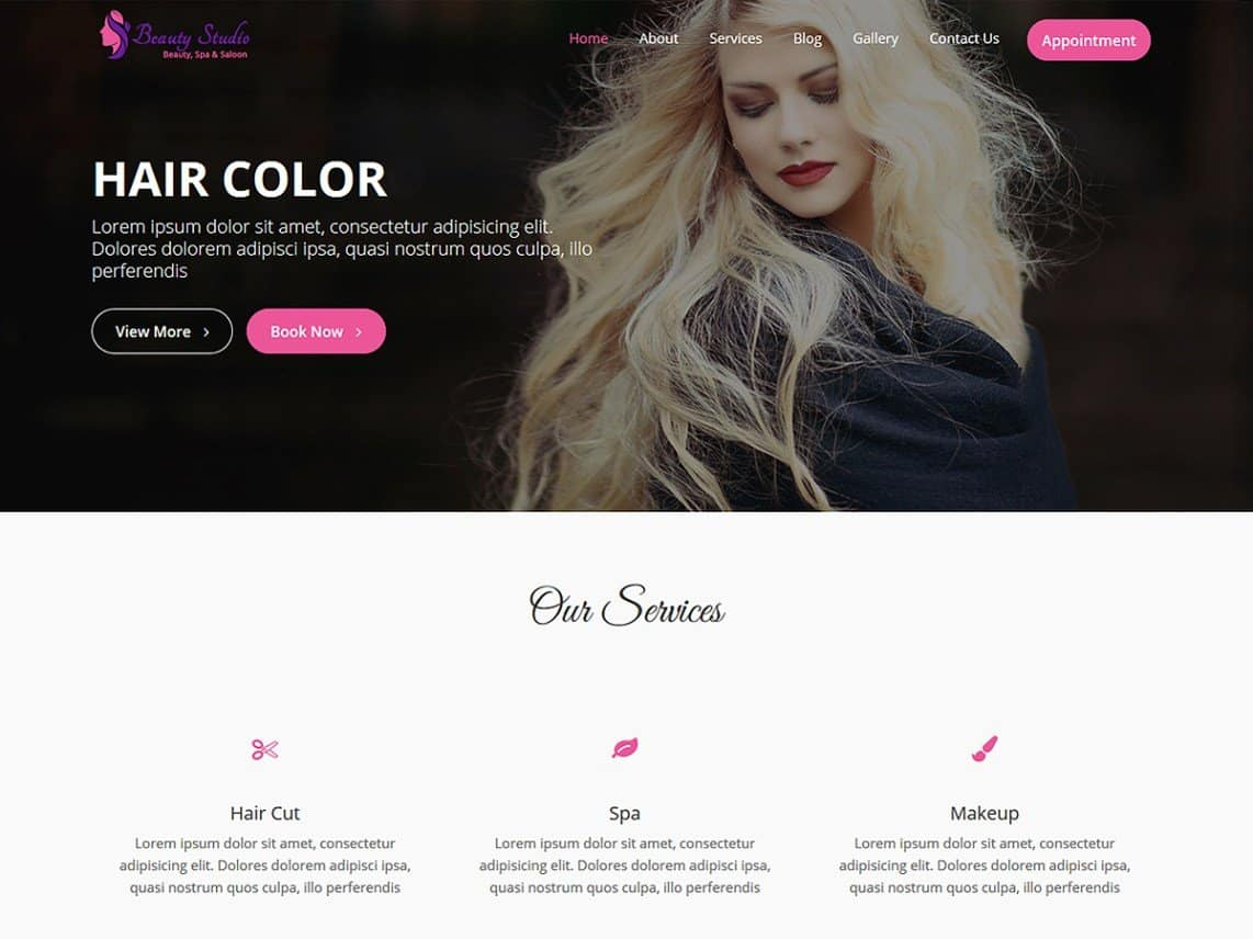 5 best free beauty wordpress themes