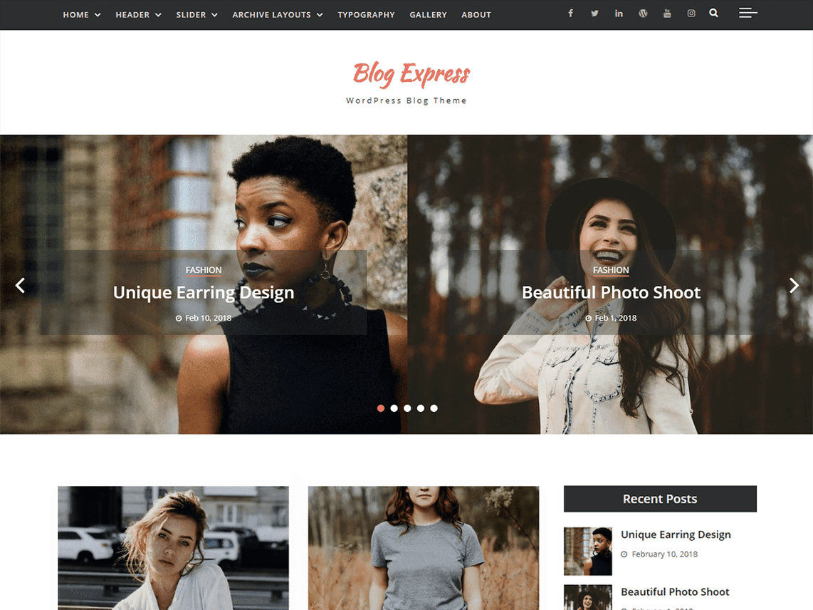 best wordpress personal blog themes