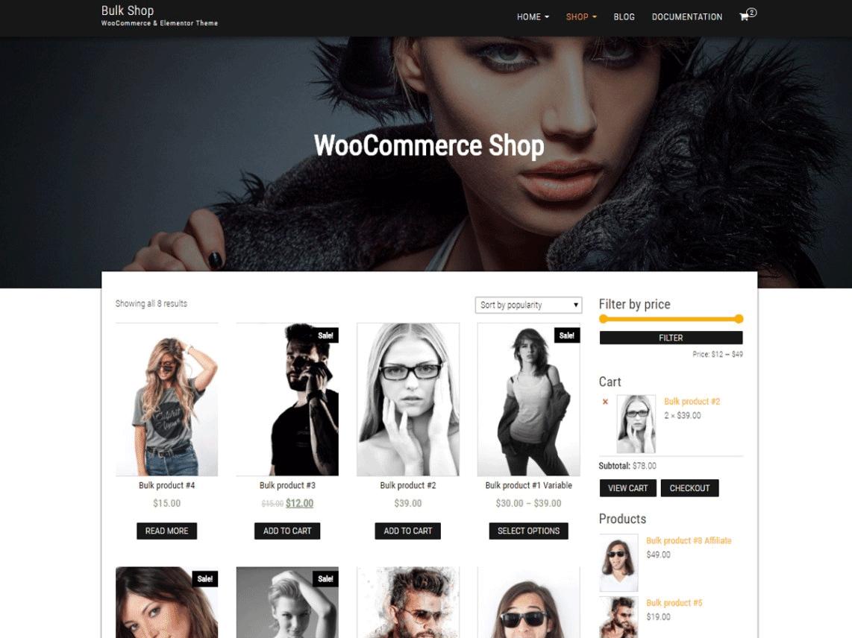 10 Best Free E-Commerce WordPress Templates