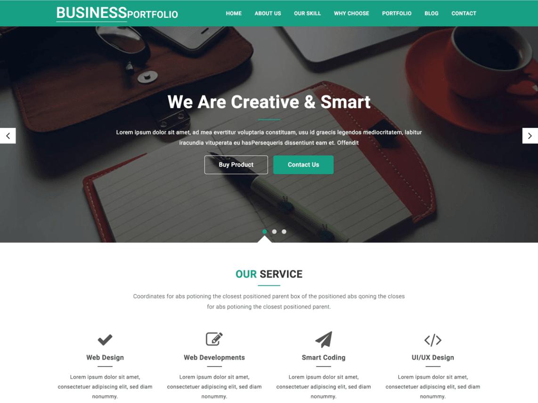 Portfolio WordPress Themes For Free