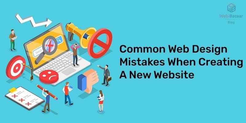 Common website mistakes to avoid