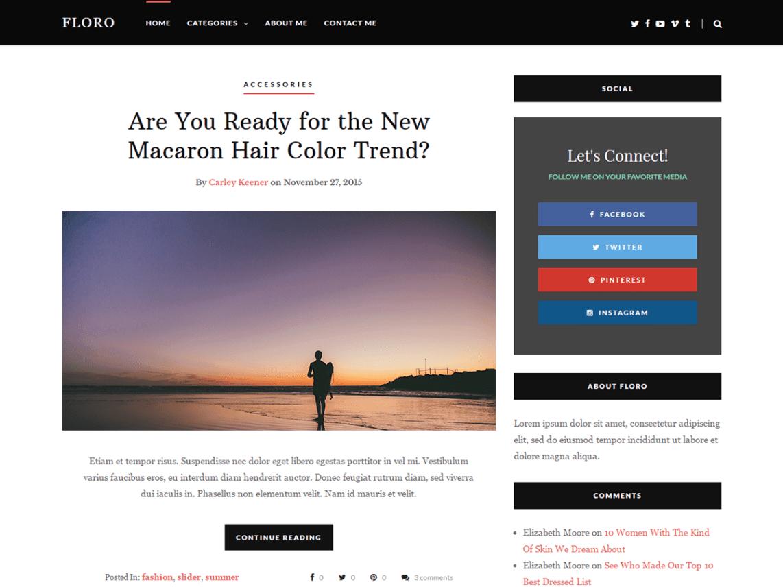 Best Free Feminine WordPress Themes