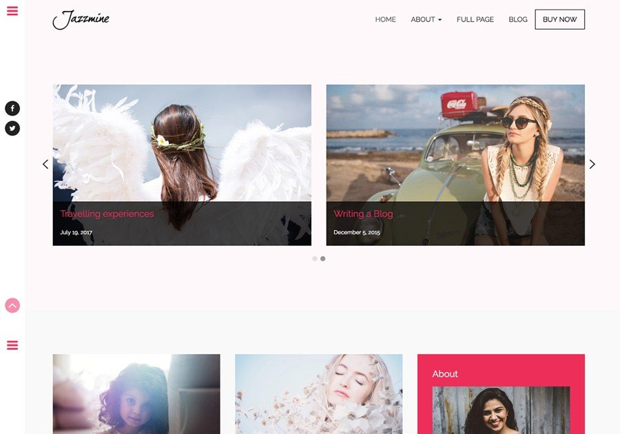 14 Best Free Bootstrap Photography Themes Of 2018