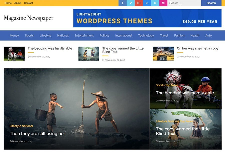 6 WordPress Free Themes For Directories