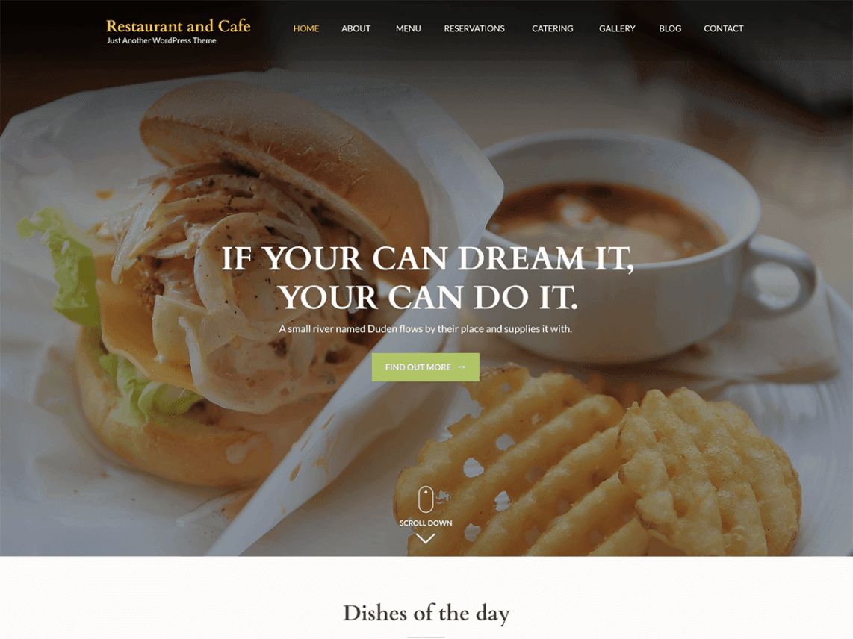 10 Best Free Restaurant WordPress Themes