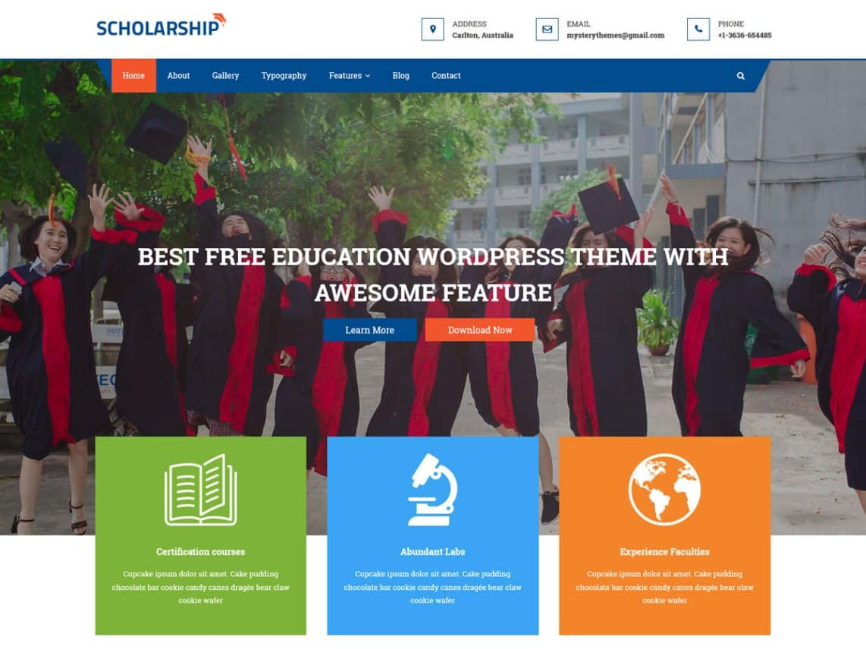 WordPress College Templates