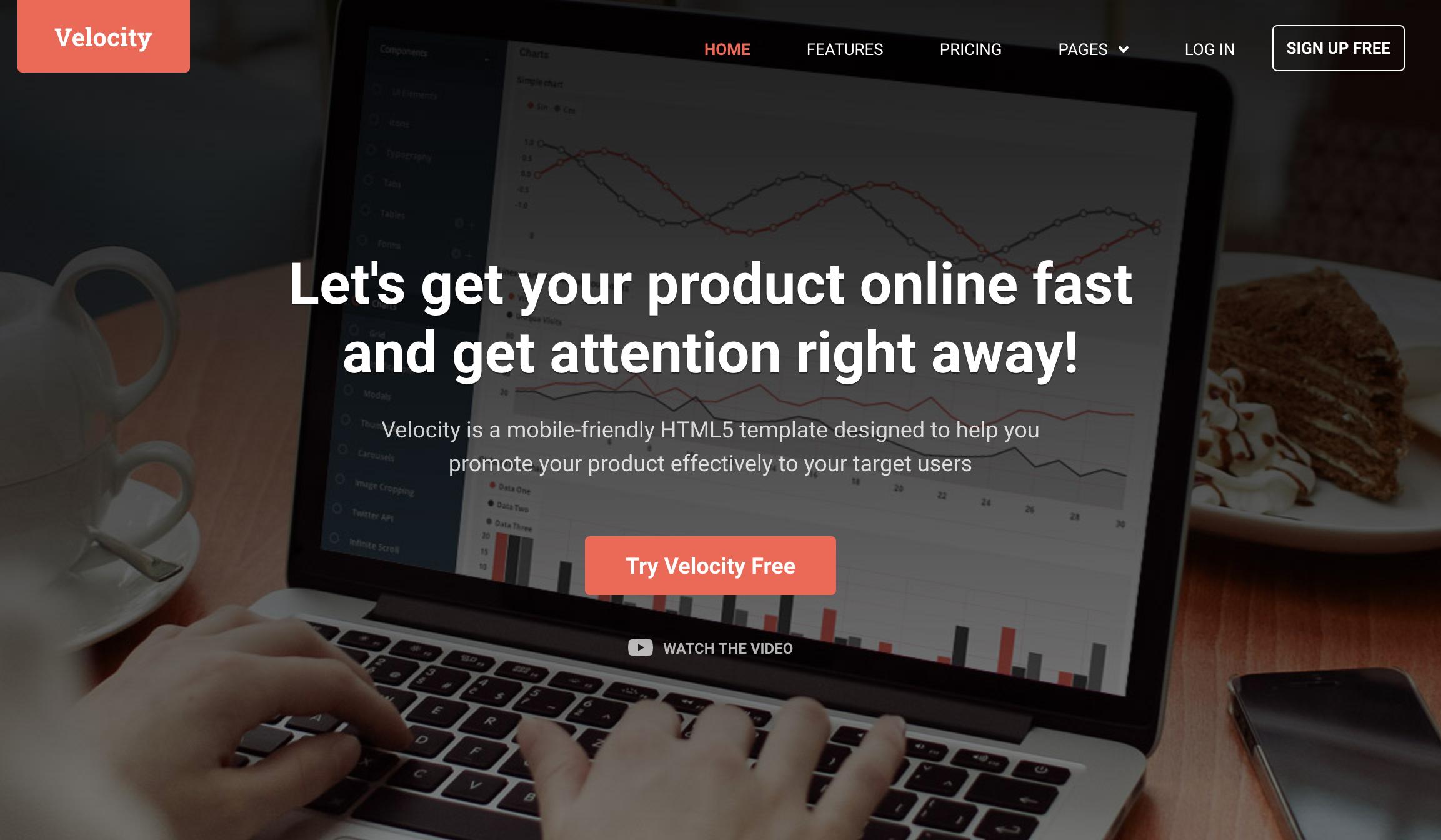 Velocity Wordpress Theme