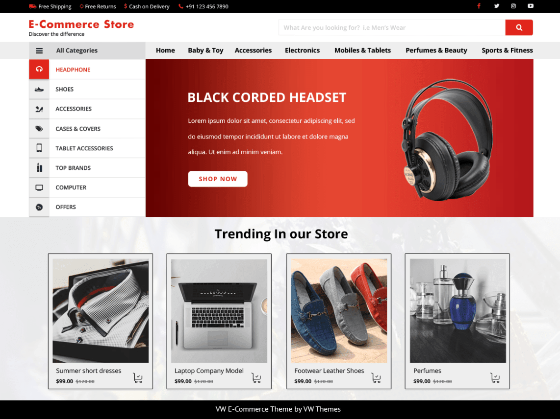 10 Best Free Wordpress E Commerce Templates The Bootstrap Themes