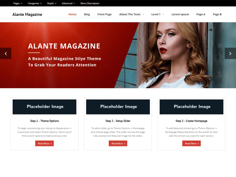 alante magazine template thumbnail