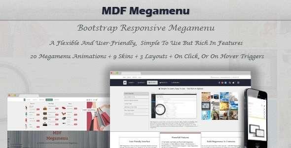 MDF Mega Menu