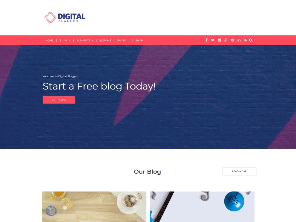 8 best free wordpress blog theme