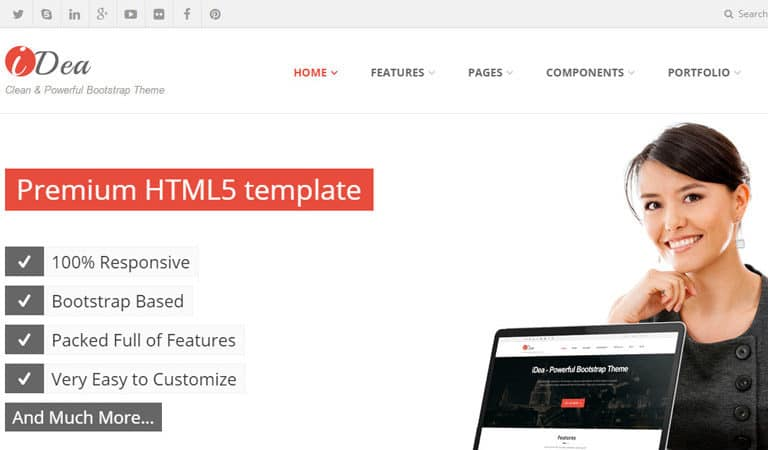 Best Bootstrap Business and Corporate Templates