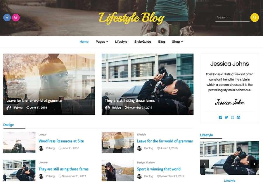 LIfestyle Magazine Pro
