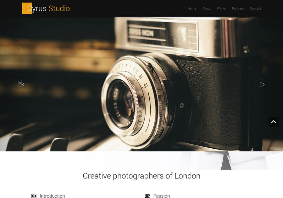 photography-free-bootstrap-theme