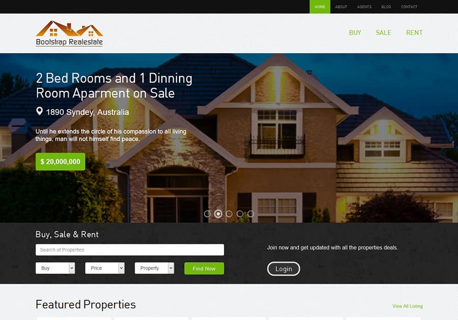 realestate-website-free-boostrap-theme