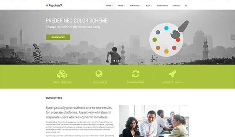 Best Bootstrap WordPress Templates