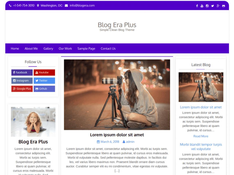 Blog Era Plus