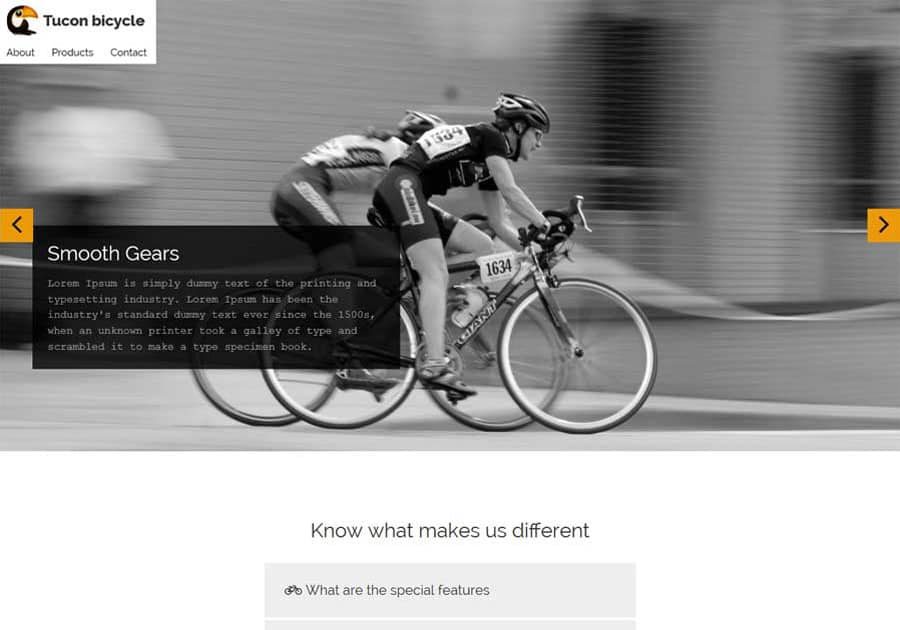 thebootstrapthemes-bicycle-fullpage