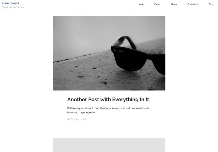 thebootstrapthemes-cleanpress