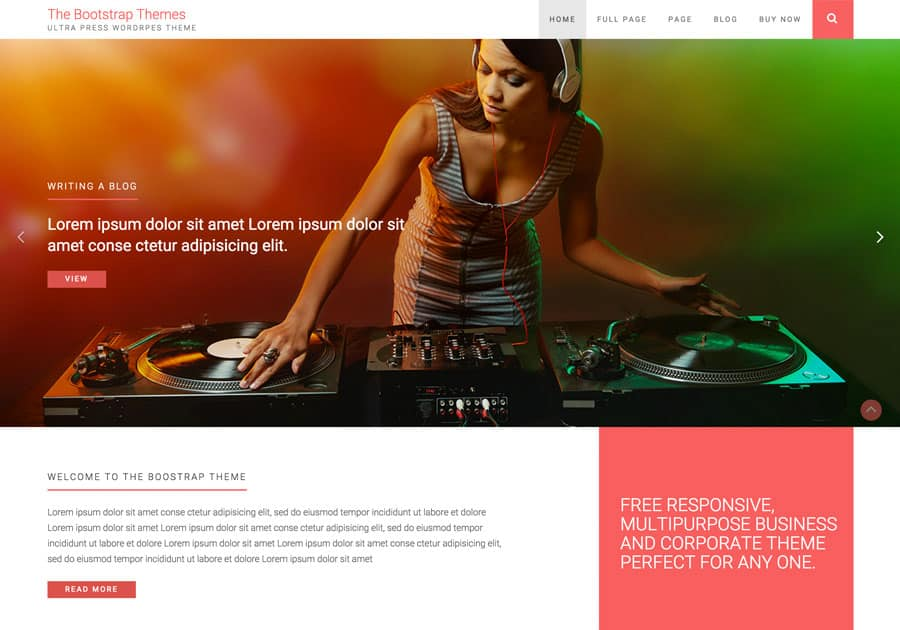 thebootstrapthemes_ultrapress