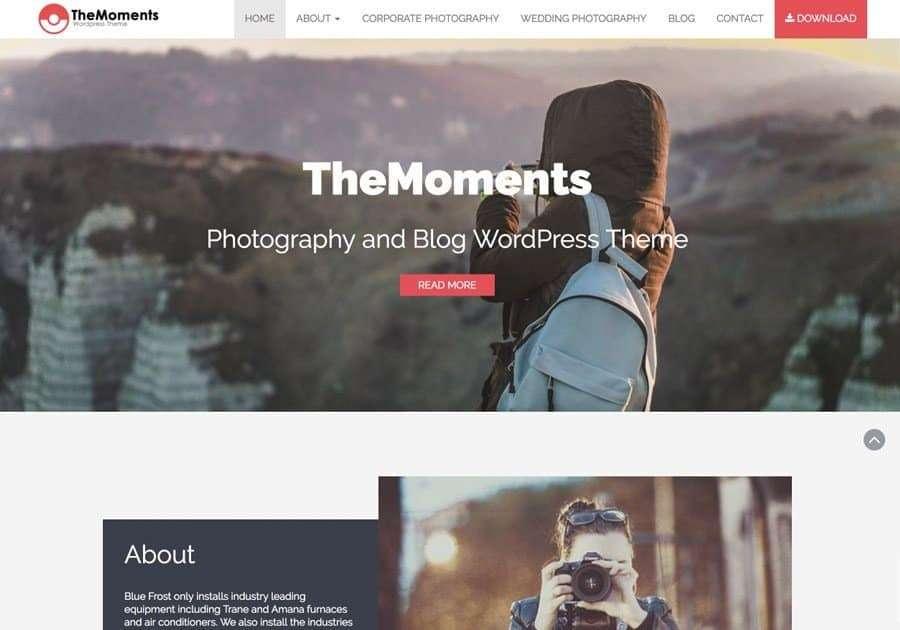 Best Premium WordPress Photography Themes